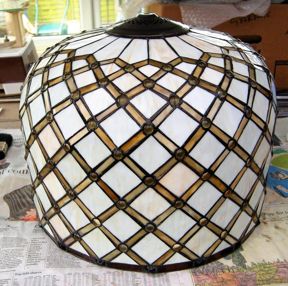 Tiffany Lamp Repair 3