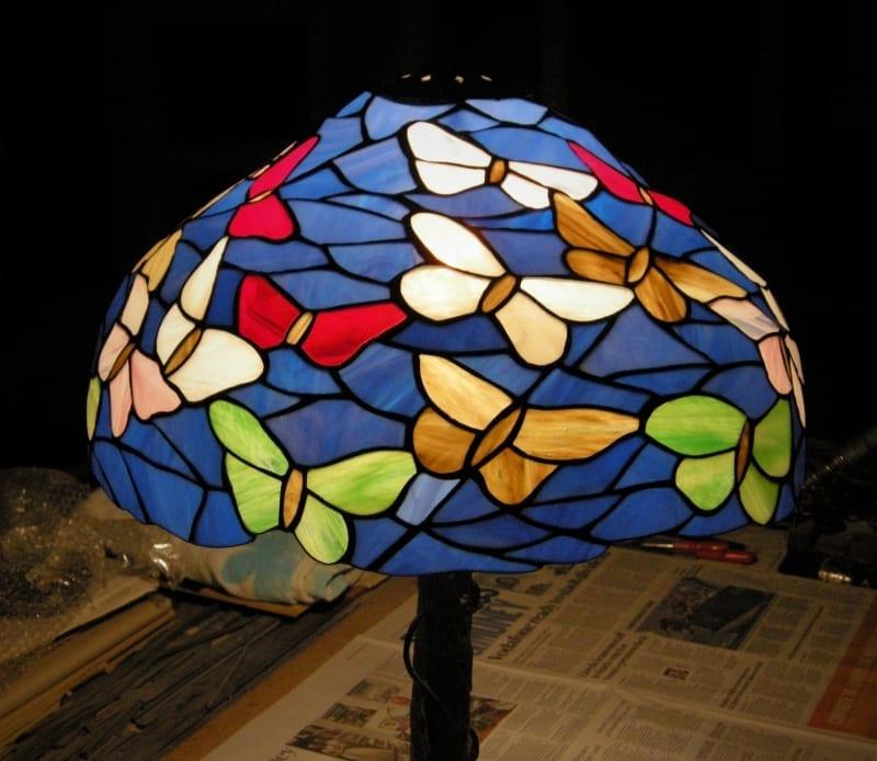Tiffany Lamp Repair 5