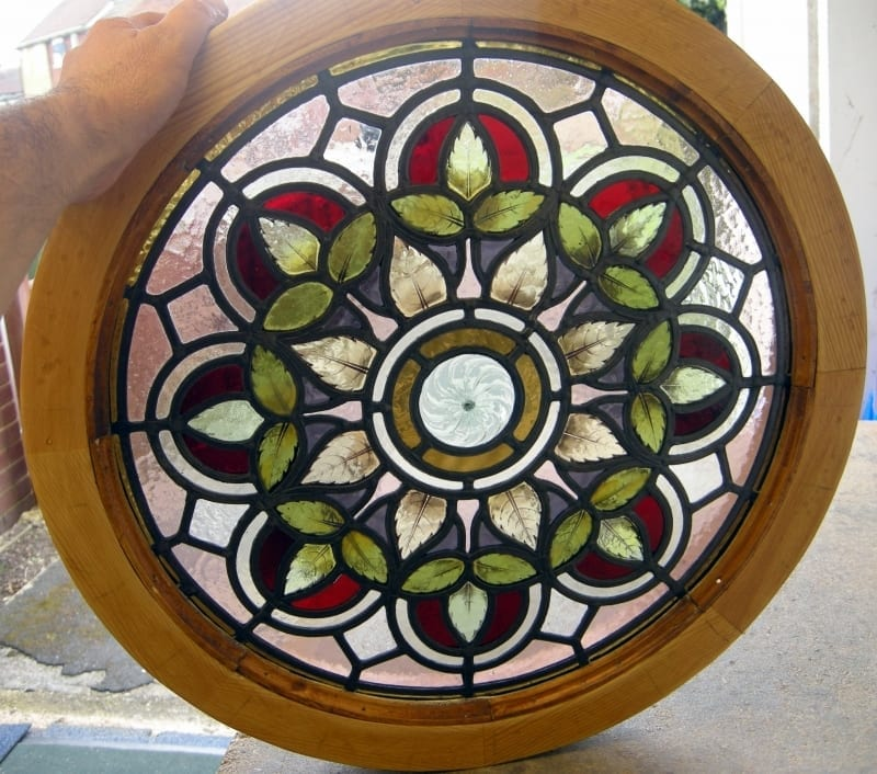 Restoring a Stained Glass Panel