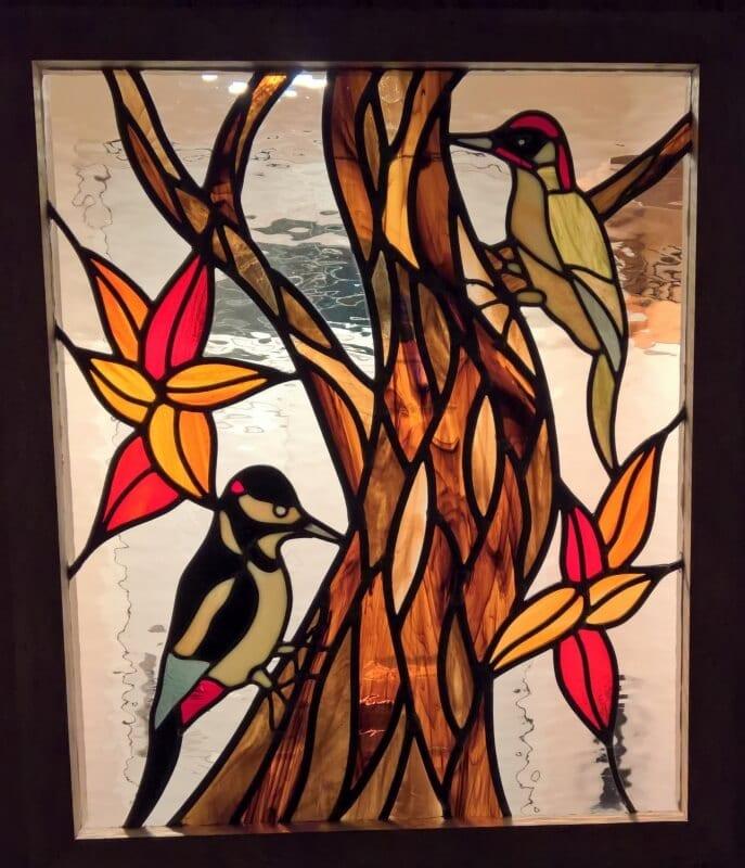 Woodpecker Panel